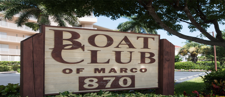 Boat Club Marco House Marco Island