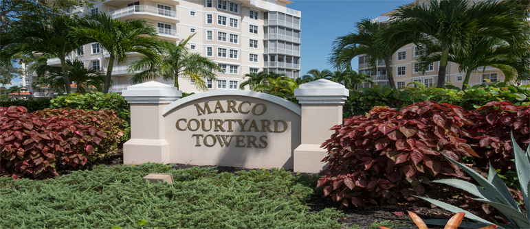 Courtyard Towers Marco House Condos for Sale